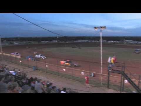 HEAT OF TH NIGHT: HEAT OF THE NIGHT: USMTS Casey's Cup Series @  Lawton Speedway 6/27/15