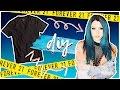 DIY NIKI DEMAR/FOREVER 21 INSPIRED FISHNET T-SHIRT DRESS // FAMOUS FASHION EP 12