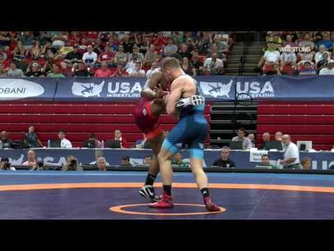 86 Round 3 - J'Den Cox (TMWC) vs. David Taylor (TMWC/Nittany Lion)