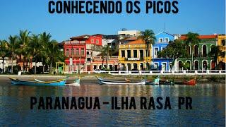 Repeat youtube video Conhecendo os picos (Paranaguá-PR  Ilha Rasa )