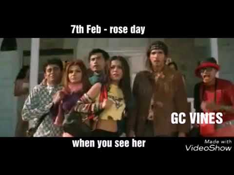 Valentine week story on bollywood style | the poysha | GC VINES