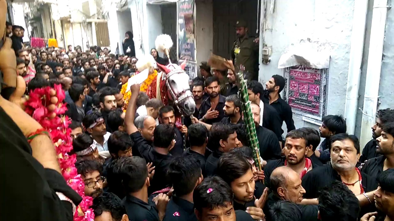Image result for ashura in lahore