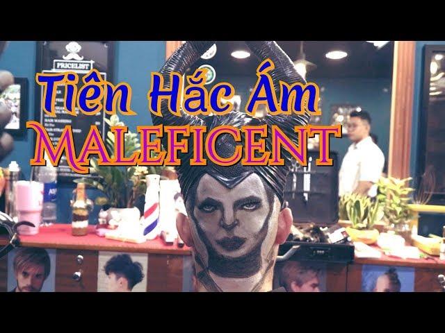 Maleficent Tattoo Hair   Mr.Trí Tam Quốc   Barbershop Vũ Trí