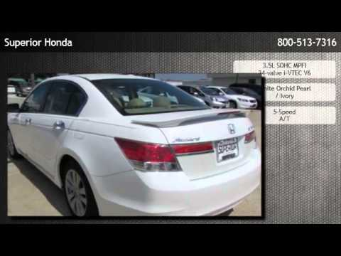 2012 honda accord ex l v6 automatic sedan with navigation for Superior honda new orleans