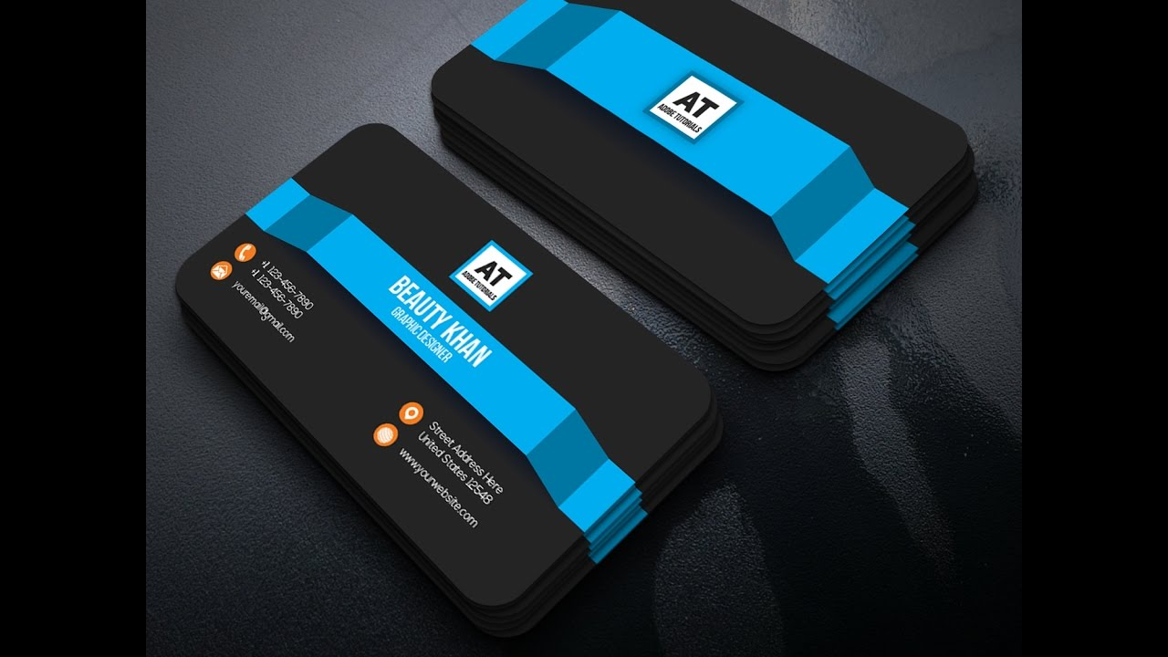 GraphicRiver Business Card Design Tutorial ~ illustrator Card ...