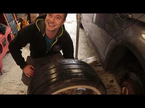 How not to 'fix' a tyre!