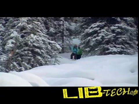 Sam Lee Luebke riding for Lib Tech