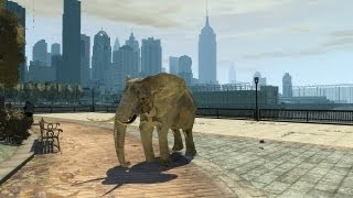 Grand Theft Auto IV - Elephant (MOD) HD