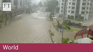 Super Typhoon Mangkhut smashes into Southern China