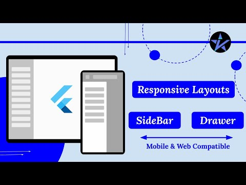 Responsive Layout with Flutter | Build Responsive App for Mobile and Web using Flutter