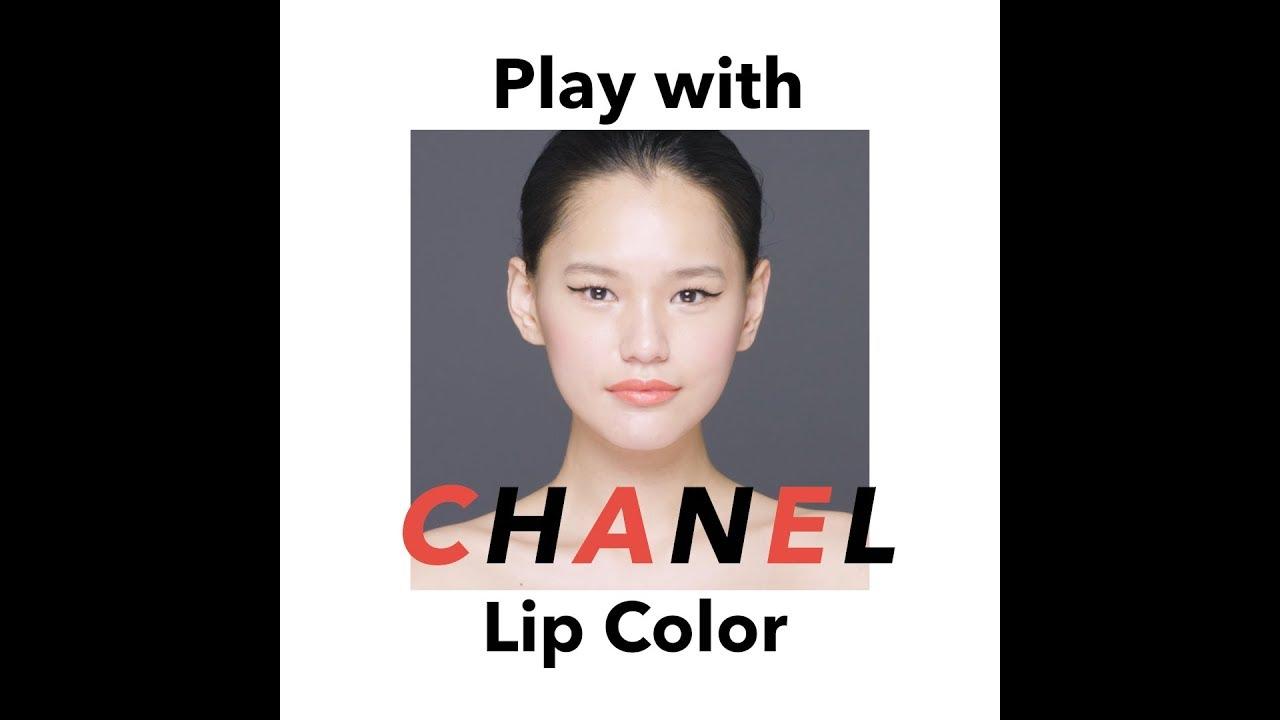 ec802e53b218 CHANELの朱赤リップでユーモアと可憐さを (GINZA) - LINEアカウントメディア
