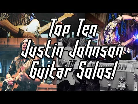 TOP TEN GUITAR SOLOS by JUSTIN JOHNSON