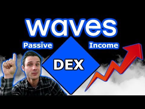 How To Use The Waves DEX | Passive Income | Feature Packed | $WAVES Moon?