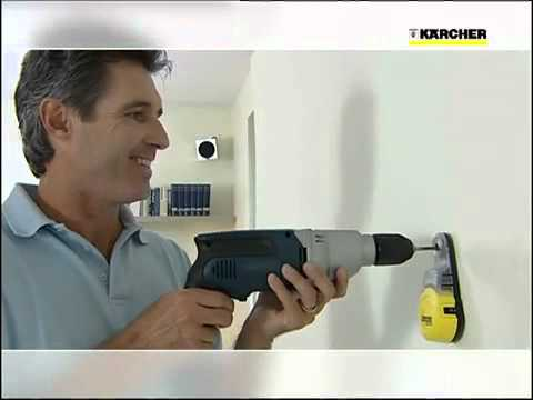 k rcher drill dust catcher ddc 50 youtube. Black Bedroom Furniture Sets. Home Design Ideas