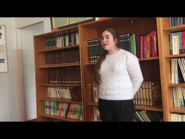 Изображение предпросмотра прочтения – МарияКотова читает произведение «Есть в осени первоначальной...» Ф.И.Тютчева