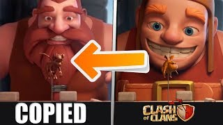 New Clash of Clans Commercial Rip-off - Missing Builder Commercial Copied | CoC Commercial 2018