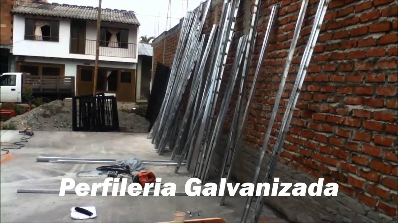 Casas Prefabricadas Cali Colombia Economicas Sismo Resistentes Youtube