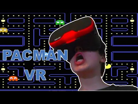 PACMAN VR | Tzumi Virtual Reality