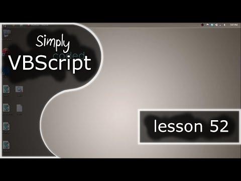 VBScript Basics, Part 52   Run As Administrator