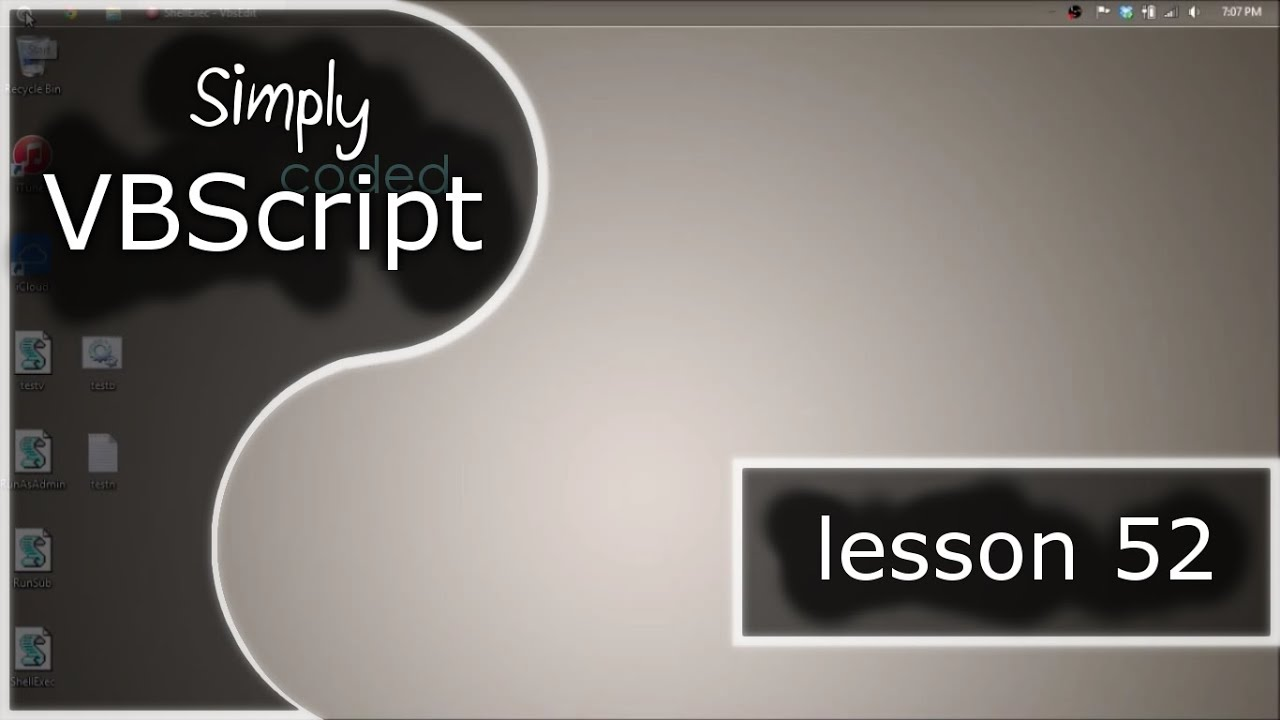 VBScript Basics, Part 52 | Run As Administrator