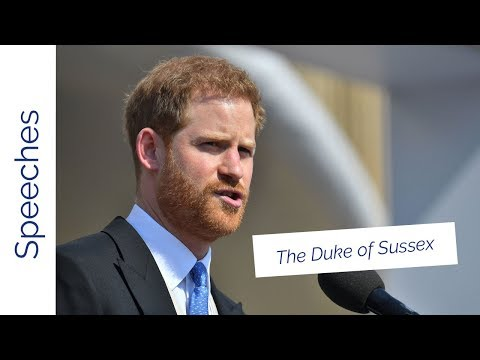The Duke of Sussex's speech at The Prince of Wales's 70th Birthday Patronage Celebration