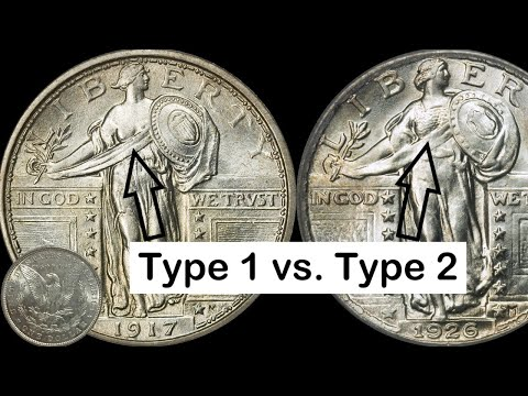 Pornography on US Coin!! Standing Liberty Quarter: Know Your Coins!