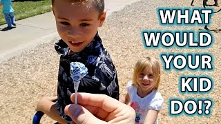 Child Predator Social Experiment: Would YOUR KID Take Candy From a Stranger?