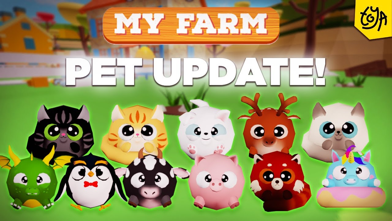 Pets are Coming to My Farm! 🐱🐶 🦄