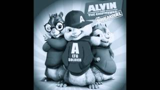 "Ludacris ""Representin"" ft. Kelly Rowland ChipMunk/Chipettes Version w/Lyrics"