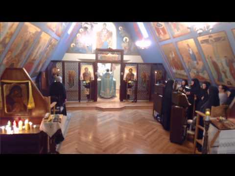 Sunday Divine Liturgy - Fr. Bilas - Tone 7, St. Jacob of Alaxka
