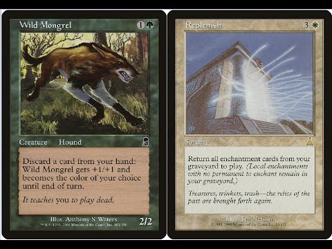 Premodern Duels - UG Madness Vs UW Replenish
