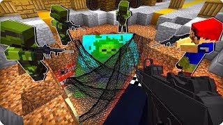 Загнали гиганта в ловушку [ЧАСТЬ 52] Зомби апокалипсис в майнкрафт! - (Minecraft - Сериал)