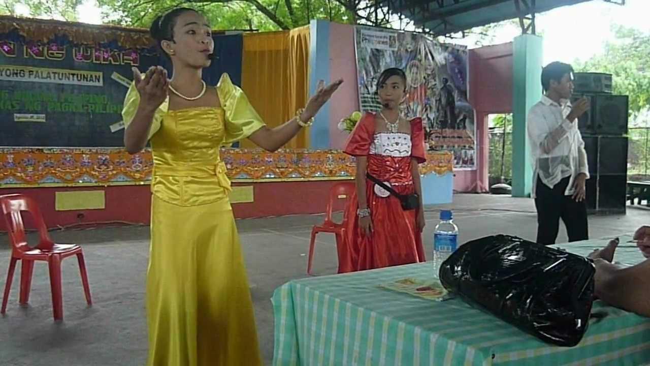 Balagtasan Tungkol Sa Wika Labangal National High School