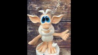 Буба из мастики ( очень подробное видео о том как сделать Бубу из Мастики)