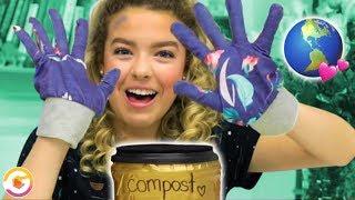 DIY Gardening Gloves and Compost Bin Earth Day Hacks! GoldieBlox