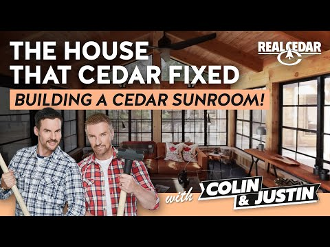 Sunroom Renovation: The House that Cedar Fixed feat. Colin & Justin!