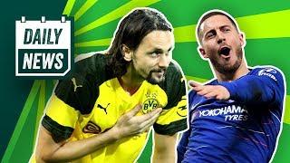 Chelsea schlägt Arsenal! Hazard verabschiedet sich! Subotic zurück in die Bundesliga? Daily News