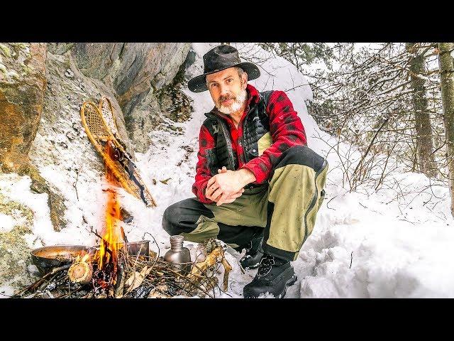 Snowshoe Trekking in February Rain | Heavy Cover GAW Winner