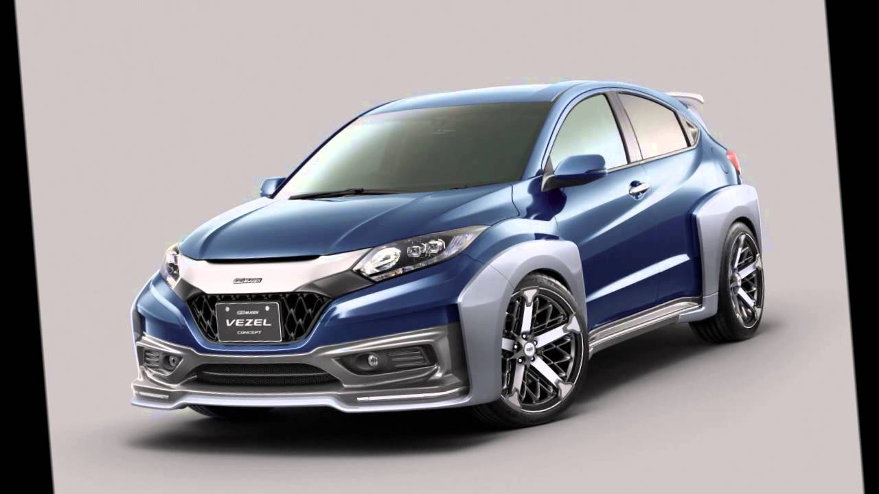 Honda Vezel Mugen Concept Quot Wide Body Kit Quot 2014 Youtube