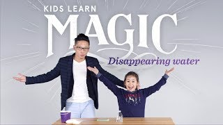 Kids Learn Magic | Disappearing Water Trick | HiHo Kids