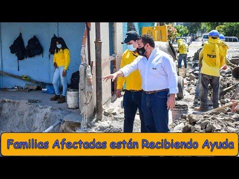 MOP brindá soluciones habitacionales a familias afectadas y se realizán obras de mitigación