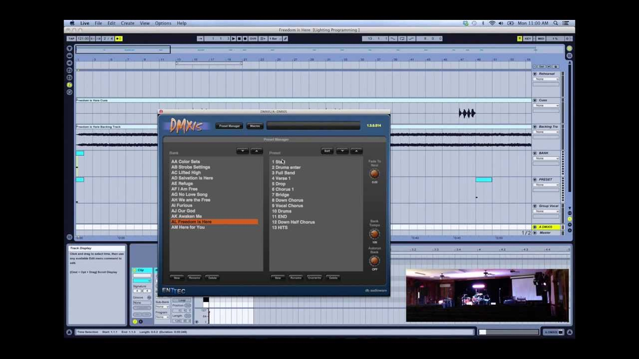 how to live playt useing ableton