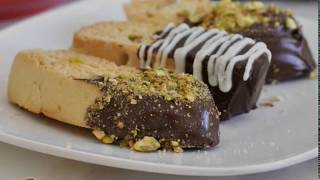Italian Pistachio-Orange Biscotti by Cooking with Manuela