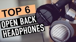 BEST 6:  Open Back Headphones 2019