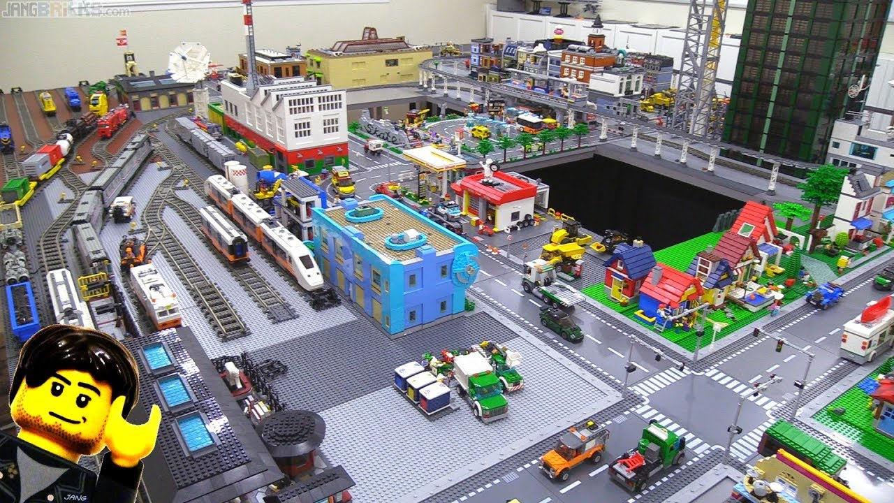 One unexciting lego city update after hours of work jan 23 2018 youtube - Image lego city ...