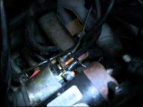 saturn sc2 starter install - youtube, Wiring diagram