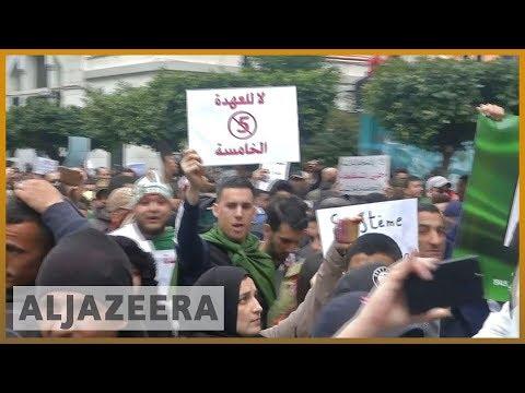 🇩🇿 Algeria protests grow as Bouteflika adamant on fifth term | Al JAzeera English