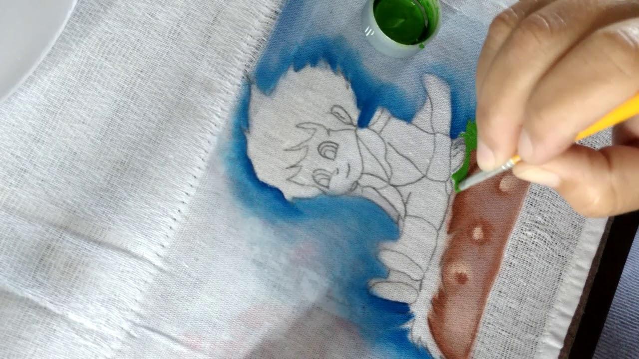 Pintando O Pequeno Principe Pintura Em Fralda Youtube
