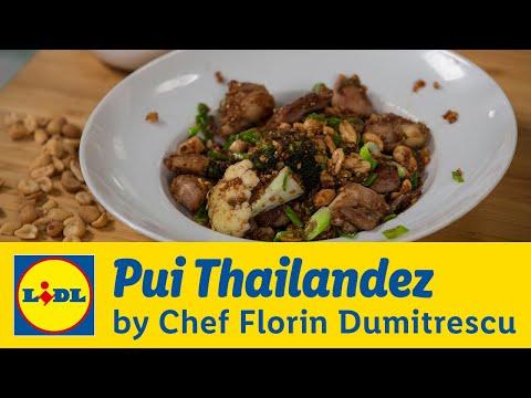 Pui Thailandez • Gateste cu Chef Florin Dumitrescu