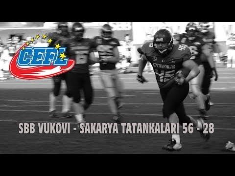 SBB Vukovi - Sakarya 56-28/CEFL CUP 2018